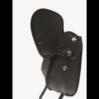 thumb-Kopfstütze (2 teilig) Kunstleder schwarz schmales Modell Citroën ID/DS-1