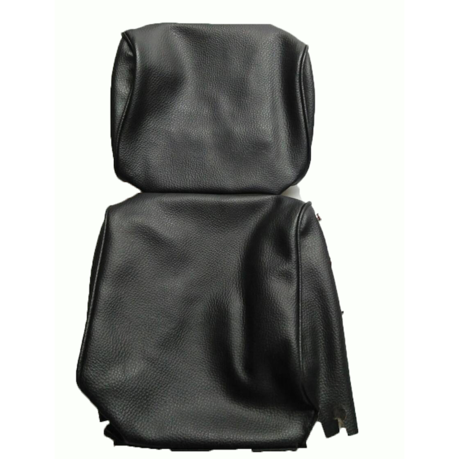 Head rest cover with black leatherette trimming narrow model 2 pieces Citroën ID/DS-1