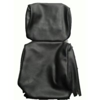 thumb-Head rest cover with black leatherette trimming narrow model 2 pieces Citroën ID/DS-4