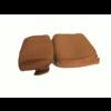 ID/DS Garniture pour repose-tête (2 pièces modèle étroit) étoffe or Citroën ID/DS