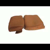 thumb-Bezug für Kopfstütze (2 teilig) Stoff ocker schmales Modell Citroën ID/DS-1