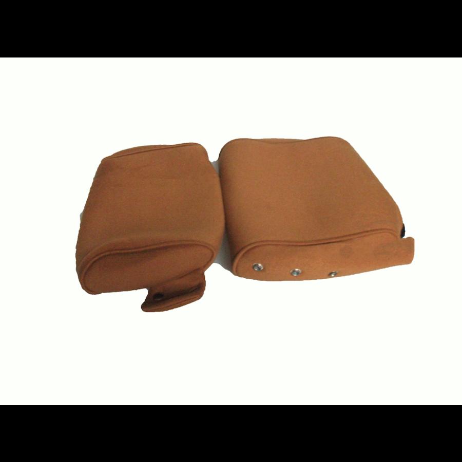 Garniture pour repose-tête (2 pièces modèle étroit) étoffe or Citroën ID/DS-1
