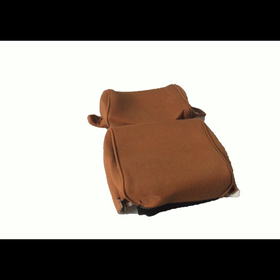 Garniture pour repose-tête (2 pièces modèle étroit) étoffe or Citroën ID/DS-2