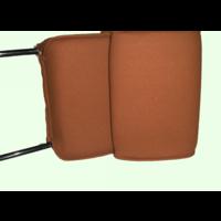 thumb-Kopfstütze (2 teilig) Stoff karamell schmales Modell Citroën ID/DS-5