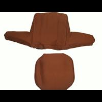 thumb-Bezug für Kopfstütze (2 teilig) Stoff karamell breites Modell Citroën ID/DS-3