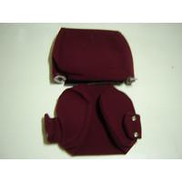 thumb-Hoofdsteunhoesal rood stof Citroën ID/DS-2