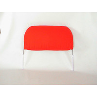thumb-Head rest with bright red cloth trimming for old types (bag shape) wide model 1 pieces 60-67 Citroën ID/DS-1