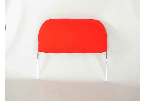 Head rest with bright red cloth trimming for old types (bag shape) wide model 1 pieces 60-67 Citroën ID/DS