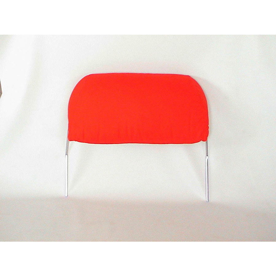 Head rest with bright red cloth trimming for old types (bag shape) wide model 1 pieces 60-67 Citroën ID/DS-2