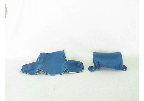 ID/DS Bezug für Kopfstütze breit (2 teilig) Stoff blau Citroën ID/DS