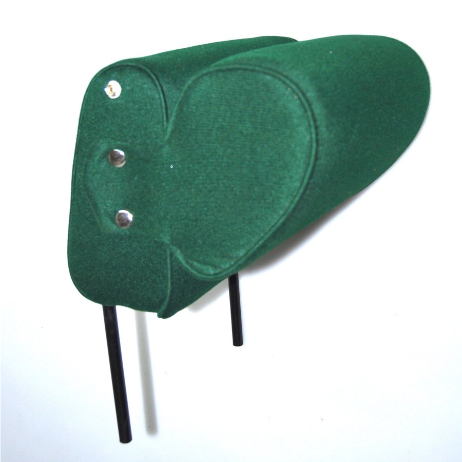 Head rest with green cloth trimming narrow model 2 pieces Citroën ID/DS-1