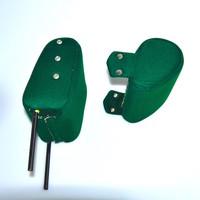 thumb-Kopfstütze (2 teilig) Stoff grün schmales Modell Citroën ID/DS-5