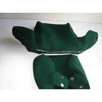thumb-Bezug für Kopfstütze (2 teilig) Stoff grün breites Modell Citroën ID/DS-1