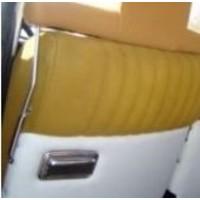 thumb-Hoofdsteun pijp , chroom [2x] zijkanten brede hoofdsteun Citroën ID/DS-4