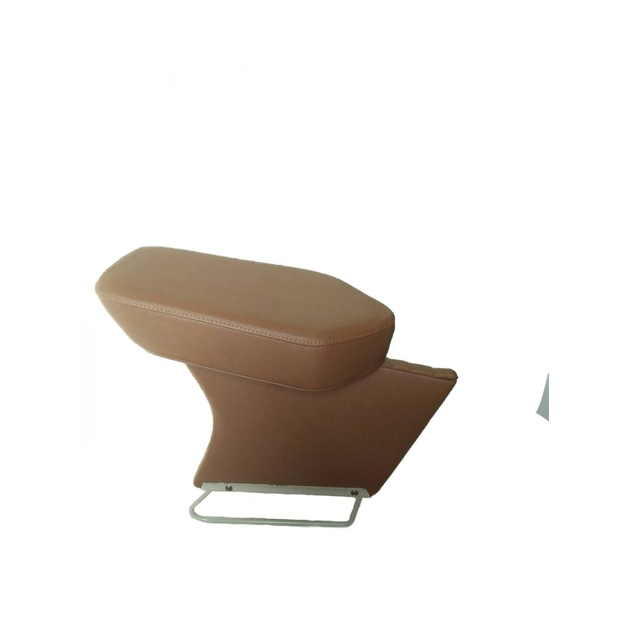 Central armrest brown leather Citroën ID/DS-1