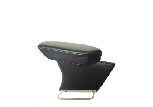 Apoio central para braço completo com revestimento em couro preto Citroën ID/DS