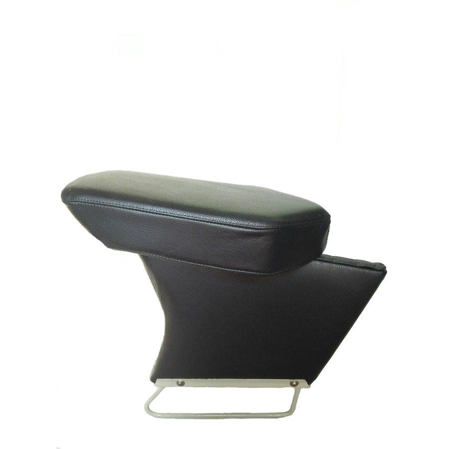 Central armrest black leather Citroën ID/DS-1