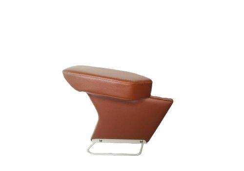 Central armrest brown leatherette Citroën ID/DS