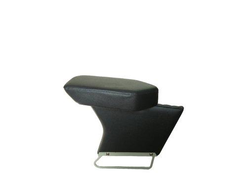 Apoio central para braço completo com revestimento em couro sintético preto Citroën ID/DS