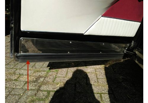 Horizontal front door rubber inside Citroën ID/DS