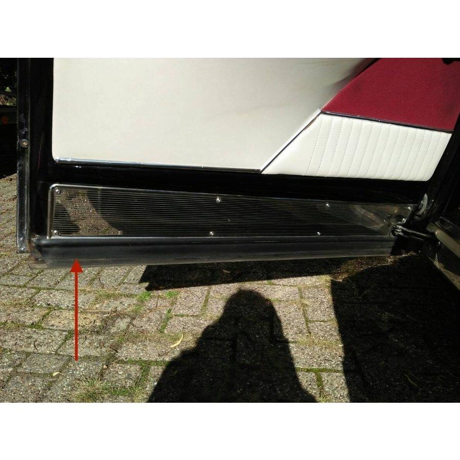 Caoutchouc horizontal intérieur d' étancheité de porte AV Citroën ID/DS-1