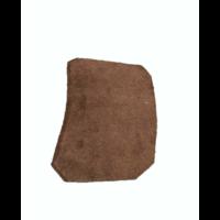 thumb-Garniture inférieure du pied du milieu G en cuir marron Citroën ID/DS-5