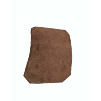 thumb-Garniture inférieure du pied du milieu G en cuir marron Citroën ID/DS-6
