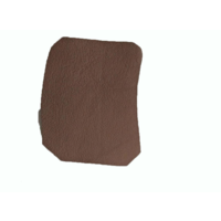 thumb-Centre pillar trimming lower part brown leather L Citroën ID/DS-8