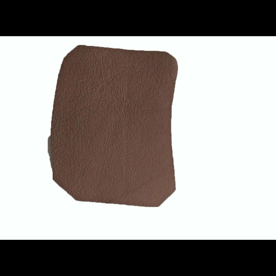 Garniture inférieure du pied du milieu G en cuir marron Citroën ID/DS-8