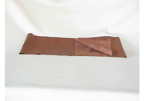 Brown leather piece for covering lower part of dashboard for Pallas 64-67 (1300 x 250) Citroën ID/DS