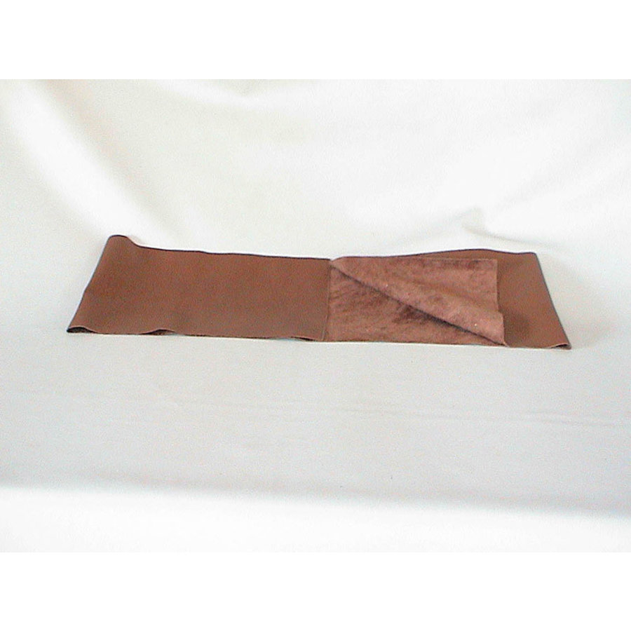 Brown leather piece for covering lower part of dashboard for Pallas 64-67 (1300 x 250) Citroën ID/DS-1