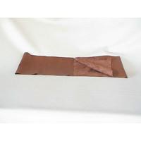 thumb-Panneau de cuir marron pour garniture de planche de bord pour PA 64-67 (1300 x 250) Citroën ID/DS-2