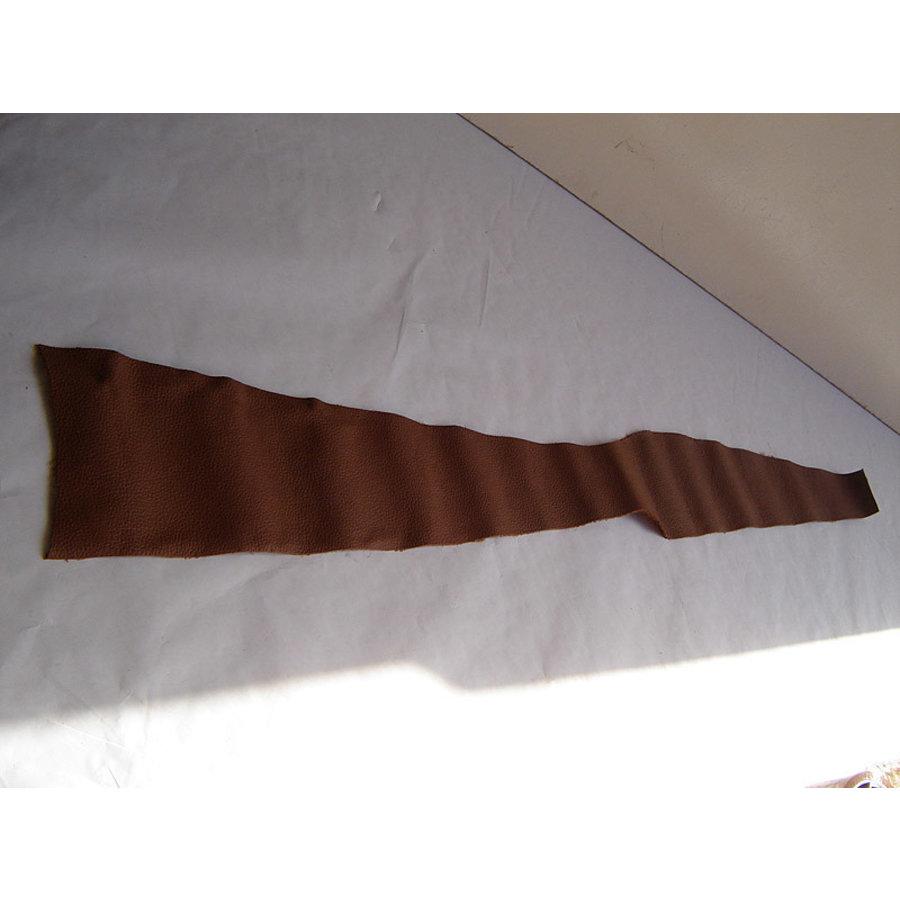 Centre pillar trimming upper part brown leather L Citroën ID/DS-2