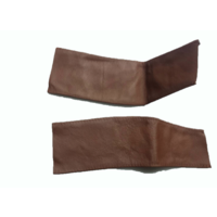 thumb-Handle on centre pillar in brown leather Citroën ID/DS-4