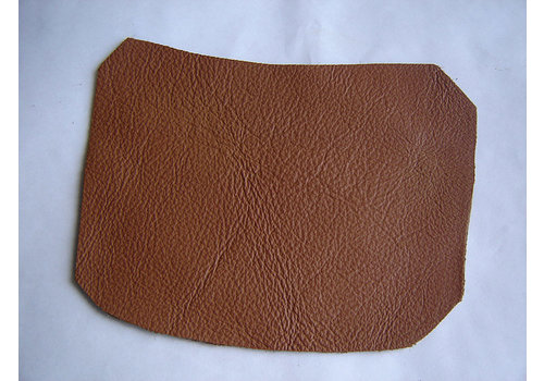 Centre pillar trimming lower part light brown leather R Citroën ID/DS