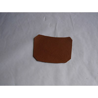 thumb-Centre pillar trimming lower part light brown leather L Citroën ID/DS-1