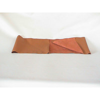thumb-light brown leather piece for covering lower part of dashboard for Pallas 64-67 (1300 x 250) Citroën ID/DS-2