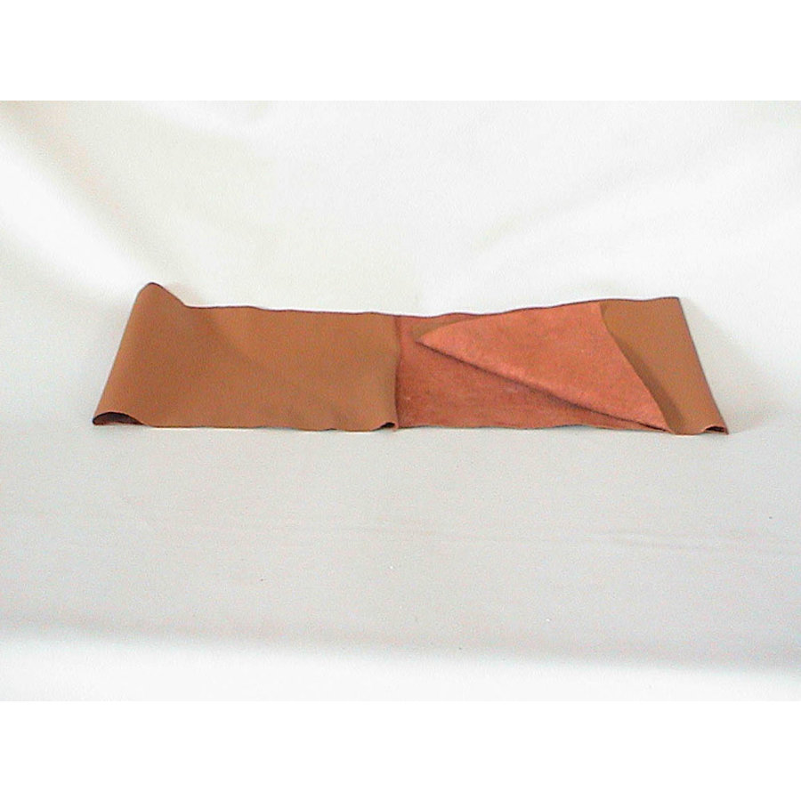 light brown leather piece for covering lower part of dashboard for Pallas 64-67 (1300 x 250) Citroën ID/DS-2