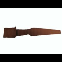 thumb-Centre pillar trimming upper part light brown leather L Citroën ID/DS-3