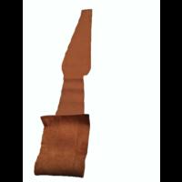 thumb-Centre pillar trimming upper part light brown leather L Citroën ID/DS-8