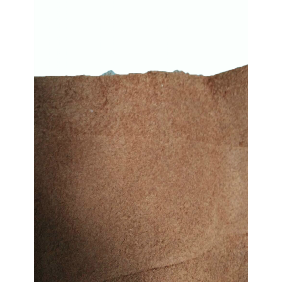 Centre pillar trimming upper part light brown leather L Citroën ID/DS-9