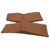 ID/DS Handle on centre pillar in light brown leather Citroën ID/DS