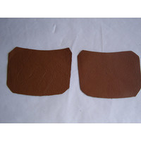 thumb-Centre pillar trimming lower part light brown leather R+L Citroën ID/DS-1