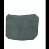 ID/DS Garniture inférieure du pied du milieu D en cuir noir Citroën ID/DS