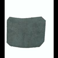 thumb-Garniture inférieure du pied du milieu D en cuir noir Citroën ID/DS-2