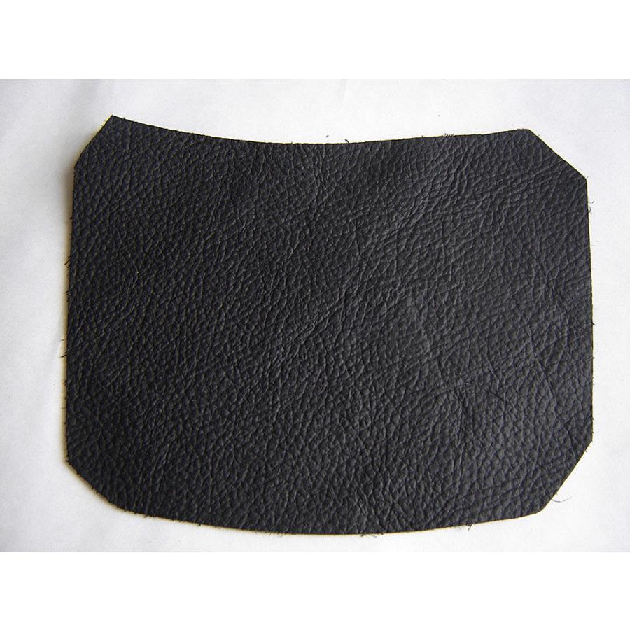 Centre pillar trimming lower part black leather L Citroën ID/DS-2