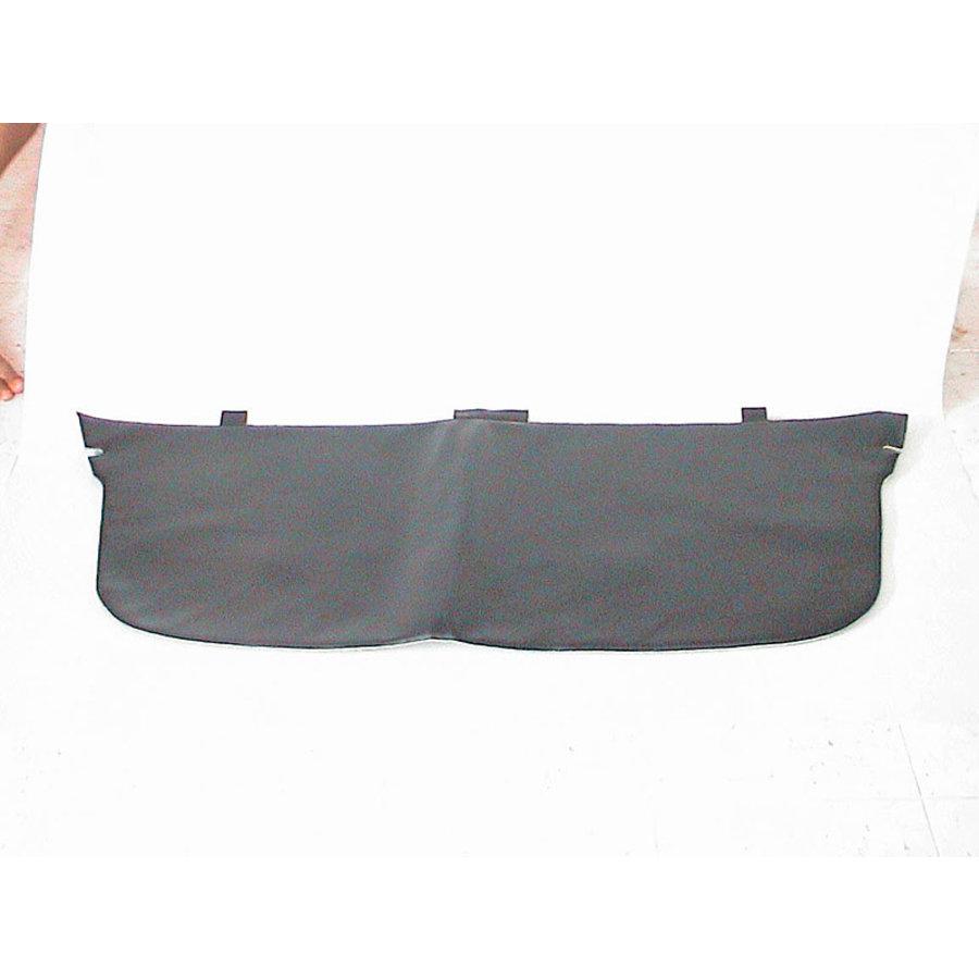 Garniture de tablette de lunette AR avec garniture mousse modéle agrandi ! en simili noir Citroën ID/DS-1