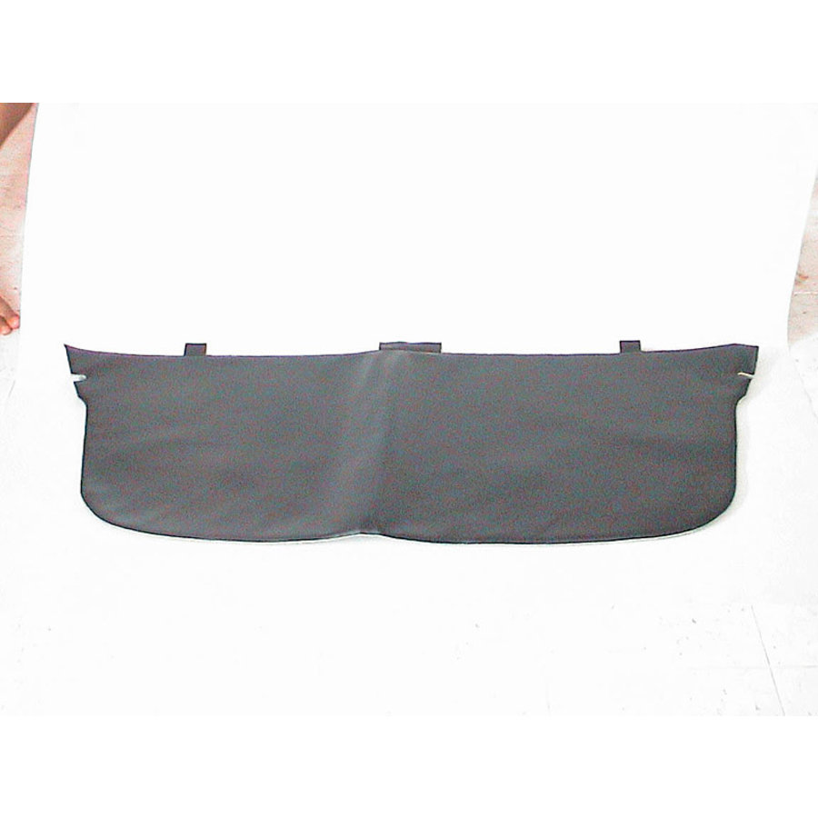 Trimming for rear window shelf with foam improved size! black leatherette Citroën ID/DS-1