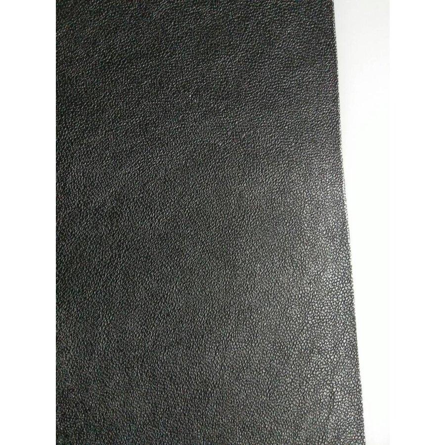 Centre pillar trimming R+L black leatherette Citroën ID/DS-4