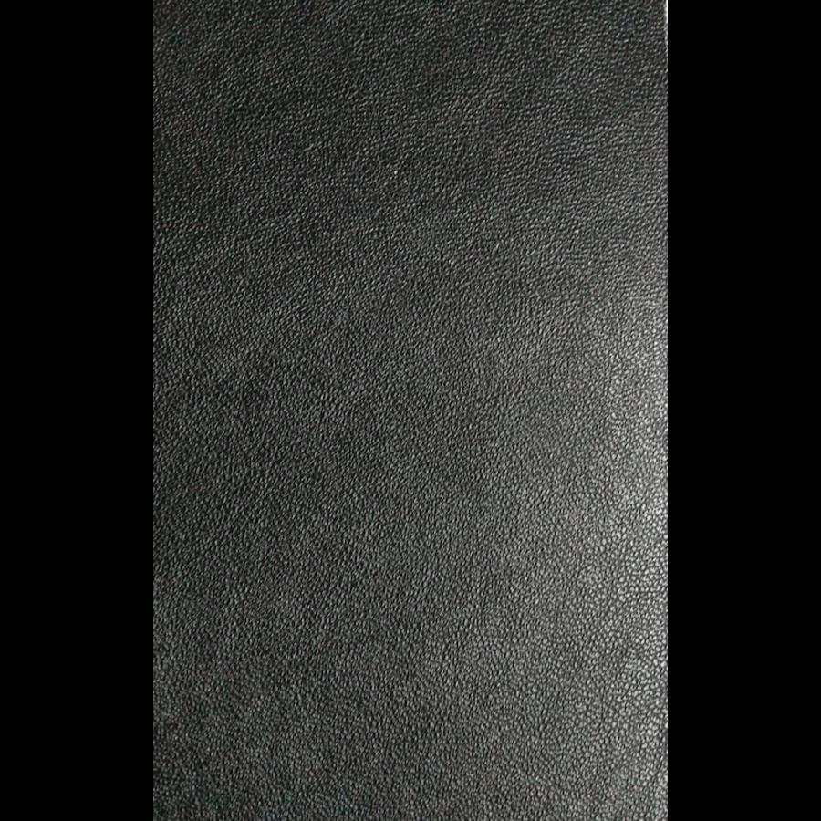 Centre pillar trimming R+L black leatherette Citroën ID/DS-6